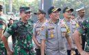Potret Keakraban POLRI dan TNI di Acara Halal Bihalal