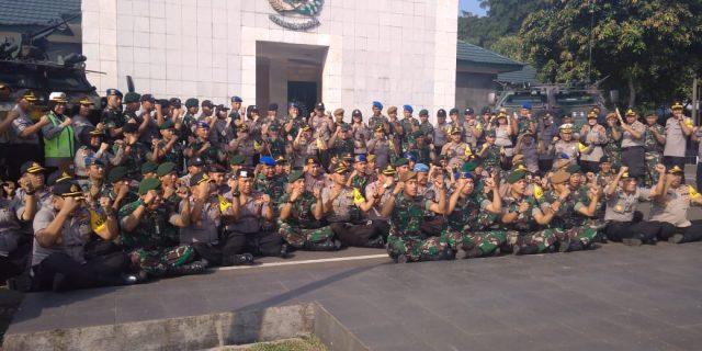 Halal Bihalal Jalin Silaturahmi Antara TNI – POLRI