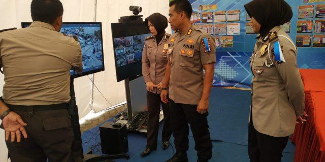 Kabid Humas Polda Banten Melaksanakan Monitoring di Pospam Terpadu Mercusuar Anyer