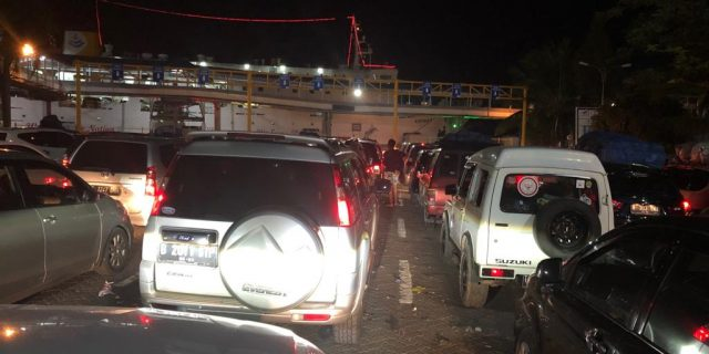 PT. ASDP Indonesia Ferry Kewalahan Terima Arus Balik Pemudik 2019