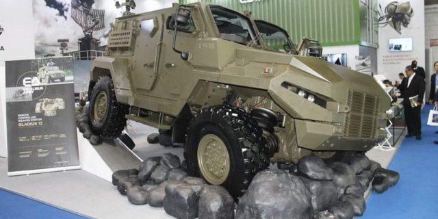 Patriot II 4×4 Buatan Excalibur Army Ceko Tampil di IDET 2019