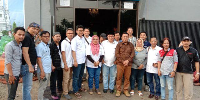 Halal Bihalal di JBS, ATN: Masyarakat Pers Harus Bisa Jaga Persatuan