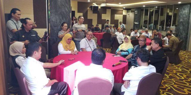 Jurnalis Tangerang Raya dan SMSI Kota Tangerang Gelar Halal Bihalal