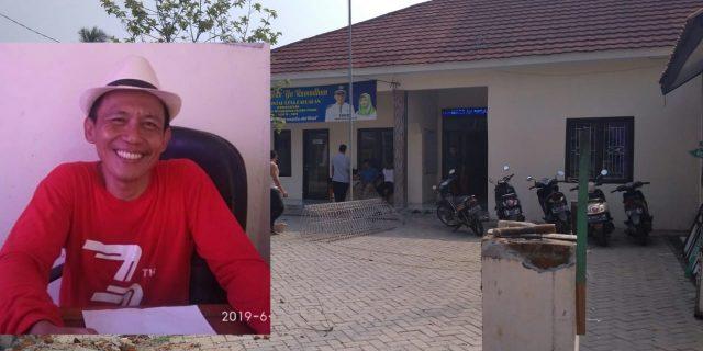 Kepala Desa Pabuaran Kabupaten Tangerang Percantik Kantor Desa