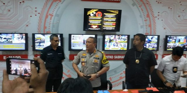 Polres Kota Tangerang Ungkap Kasus Pencurian dengan Kekerasan Di Toko Emas Permata Balaraja