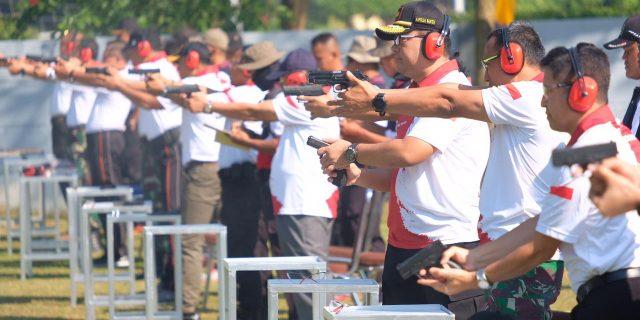 Kapolda Banten  Buka Kejuaraan Menembak