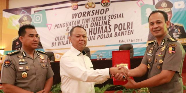 Divisi Humas Polri Gelar Workshop Penguatan Tim Media Sosial dan Media Online