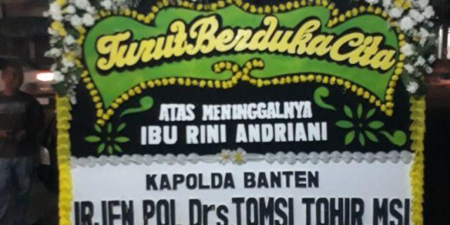 Kapolda Banten Sampaikan Ucapan Duka atas Meninggalnya Wartawati Senior
