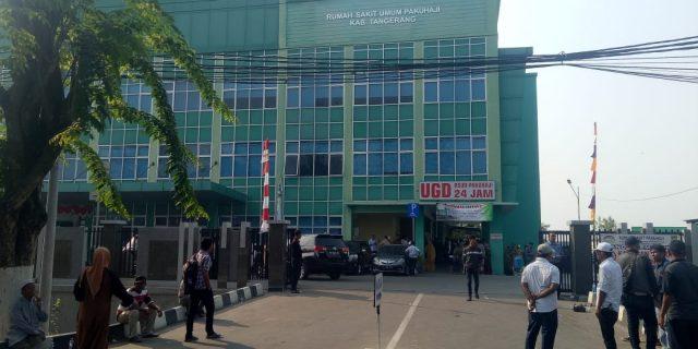 Puluhan Balon Kades Mengikuti Medical Check Up Di RSUD Pakuhaji