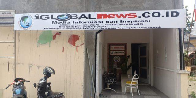 Kantor Redaksi iGlobal News Terbakar