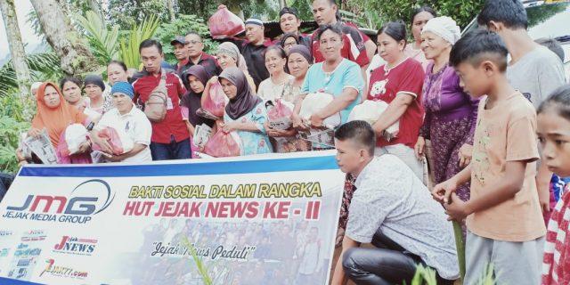 HUT Ke 11 Media JejakNews Adakan Pelatihan Pra Ukw dan Gelar Baksos