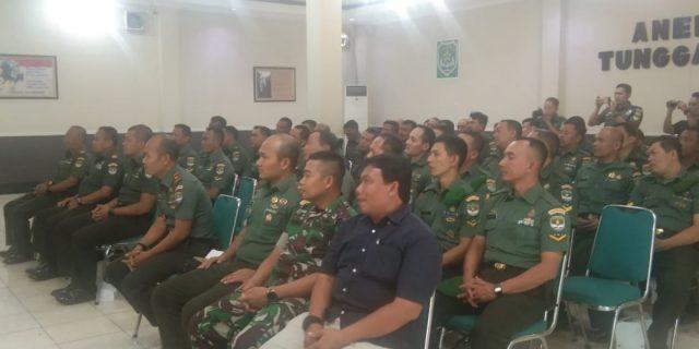 Kodim 0506/Tgr Tingkatkan Katpuan Apkowil Tersebar Tahun 2019