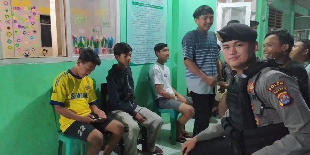 Pelihara Keamanan, Dit samapta Polda Banten Rutin Gelar Patroli Dialogis