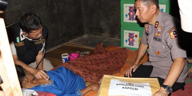 Tim Satgas Nusantara Korbinmas Baharkam Mabes Polri Peduli dan Berbagi