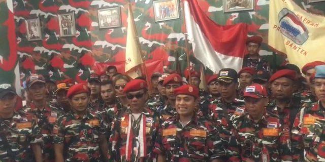 Ormas Laskar Merah Putih Provinsi Banten Deklarasi Damai Papua