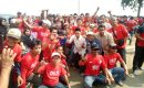 Pendaftaran Balon Kades Sukamantri HERI HERMAWAN Dikawal 500 Warga