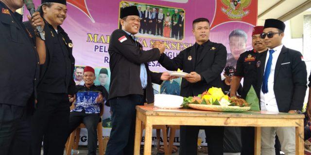 Anggota BPPKB Ranting Desa Sodong Tigaraksa Resmi Di Lantik