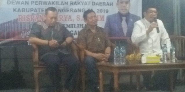 Rispanel Arya Anggota Dprd Kabupaten Tangerang Gelar Reses Pertama
