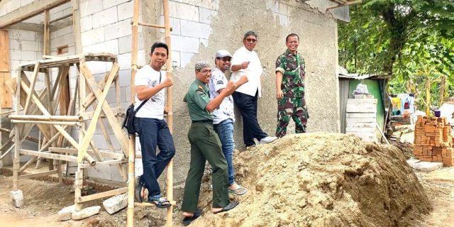 Pembangunan Rumah Layak Huni Bagi Keluarga Soleh Sudah Tahap Pemlesteran