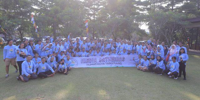 Gathering Humas Pemkot Tangerang Bersama Ratusan Awak Media