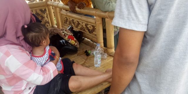 Tidak Ada Rambu Rambu Pelebaran Jalan Raya Cikupa- Pasarkemis Rawan Kecelakaan