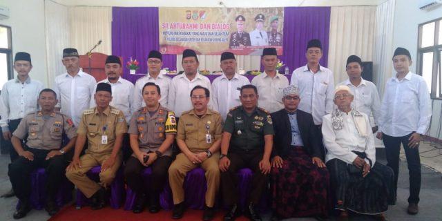 Kapolresta Tangerang Adakan Deklarasi Damai Di Kecamatan Gunung Kaler
