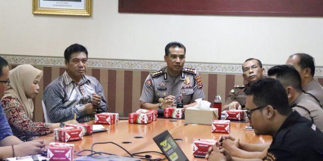 Kabid Humas Polda Banten Jadi Narasumber Sosialisasi satgas saber pungli