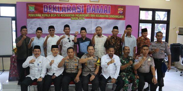 Jelang Masa Kampanye Pilkades, Kapolresta Tangerang Akan Pertebal Jumlah Bhabinkamtibmas