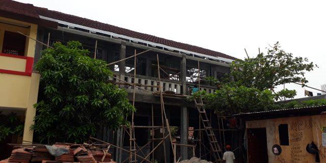 Bangunan SDN Salembaran II Dipertanyakan