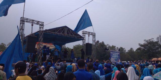 Teamses 02 Desa Taban Di Duga Lecehkan Aparat Pengamanan Kampanye Pilkades