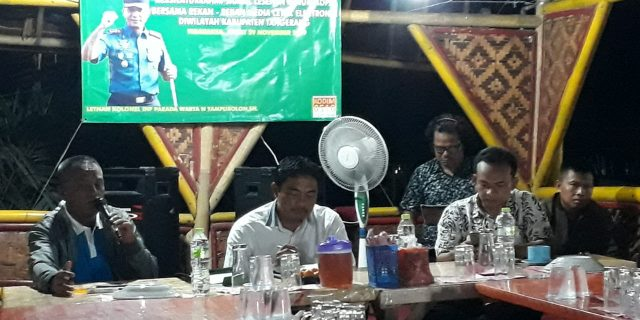 Kodim 0510/Tigaraksa Silaturahmi Dengan Awak Media