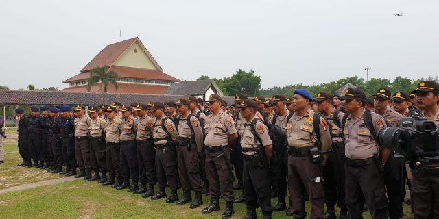 Jelang Pengamanan Pemungutan Suara Karo Ops Polda Banten Pimpin Anev Dan Apel
