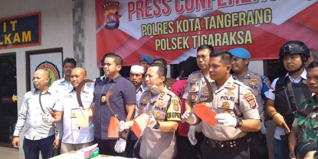 Cegah Tawuran Kapolresta Tangerang Akan Gandeng Dinas Pendidikan dan Walimurid