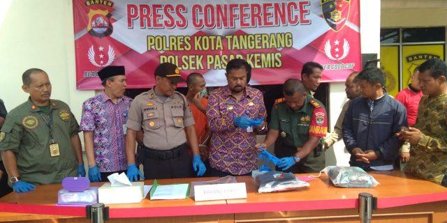Polresta Tangerang Berhasil Ungkap Kasus Tawuran Pelajar Di Villa Tomang Pasarkemis