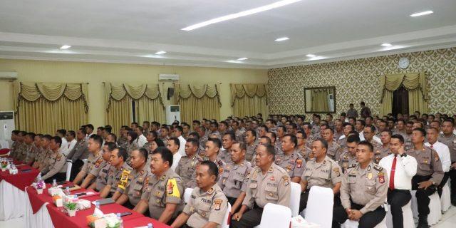 Polda Banten Gelar Lat Pra Ops Lilin Kalimaya 2019