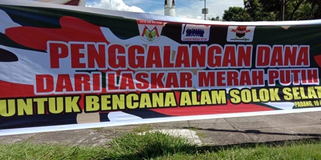 LMP Sumbar Galang Dana Untuk korban Bencana Banjir Bandang Solok Selatan