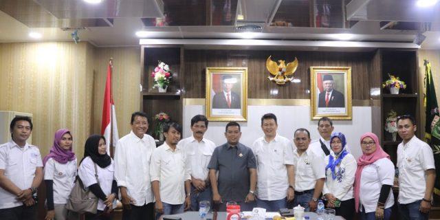 Ketua DPRD Banten Apresiasi Audiensi SMSI yang Buka Wawasan terhadap Dunia Pers