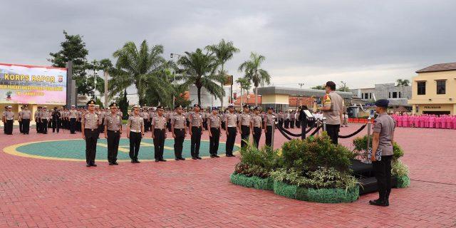 Kapolda Banten Gelar Korp Raport, 987 Personel Polda Banten naik pangkat