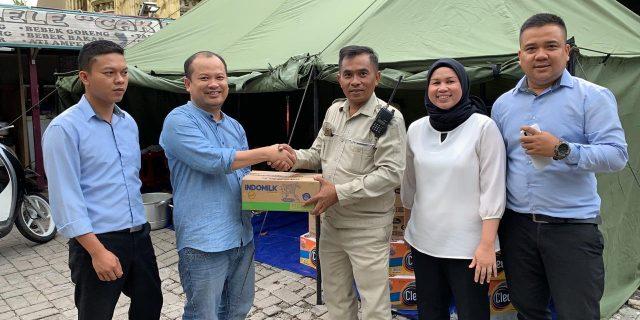 DPC Partai Gerindra Kota Tangerang Buka 4 Dapur Umum Untuk Korban Banjir