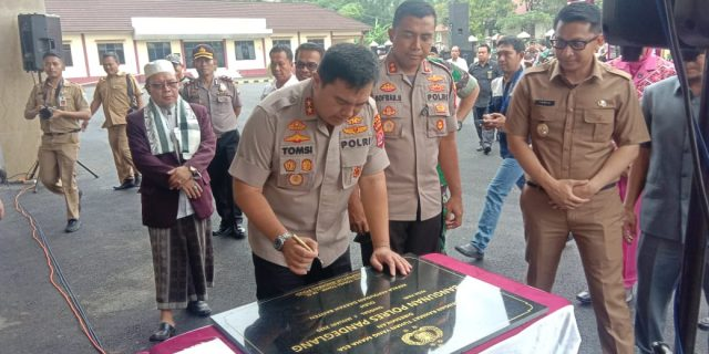 Kapolda Banten Irjen Pol Drs. Tomsi Tohir, M.Si Resmikan Mako Polres Pandeglang