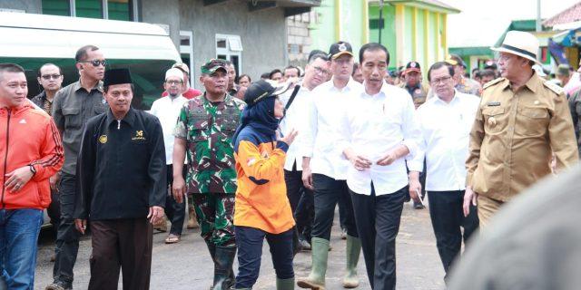 Pangdam III/Siliwangi Sambut Kedatangan Presiden Joko Widodo Di Lebak