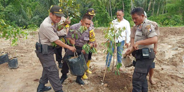 Antisipasi Bencana, Polda Banten Gelar Kegiatan Penanaman Pohon