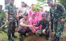 Peduli Penghijauan, Polsek Cikupa Tanam Pohon di wilayah Hukumnya