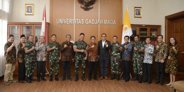 Kasad dan Rektor UGM Jalin Kerja sama Program Pascasarjana