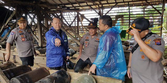 Berantas PETI : Polda Banten Gelar Ops Gabungan Pasca Banjir Bandang Lebak