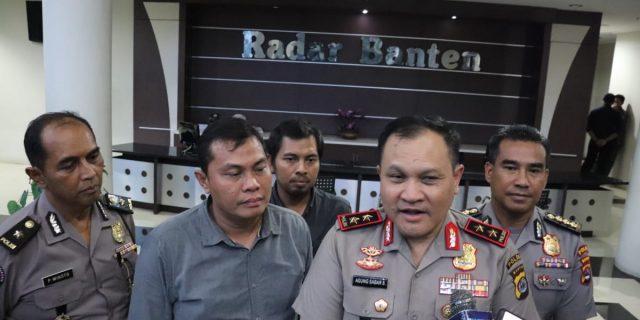 Pelihara Sinergitas, Kapolda Banten Visit Media Ke Kantor Redaksi Radar Banten