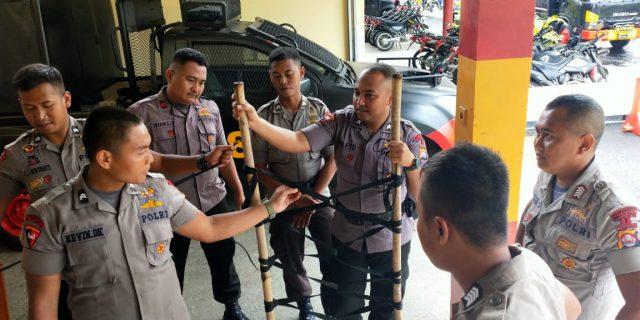 Siaga Bencana Alam, Personil Sat Brimob Polda Banten intens asah kemampuan