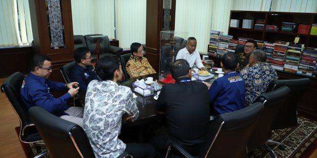 Pengurus PWI Pusat dan Panitia HPN 2020 Temui Menteri PANRB