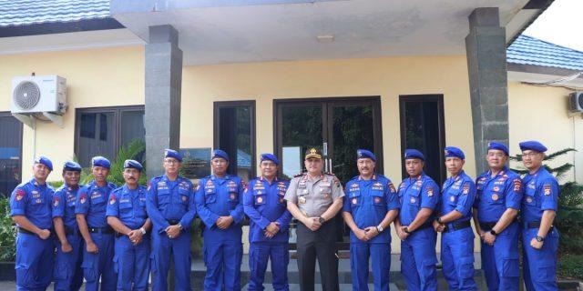 Kapolda Banten Kunker ke Ditpolairud cek kesiapan personel