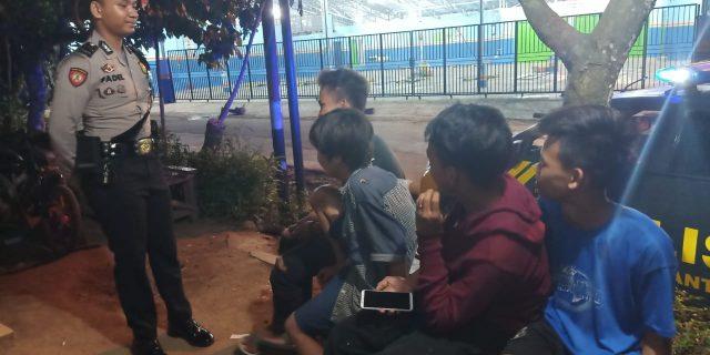Beri Rasa Aman masyarakat, Ditsamapta Polda Banten Gelar Patroli Dini Hari